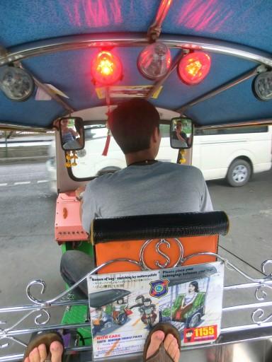 Tuc tuc di Bangkok