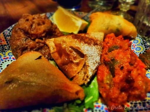 Antipasto tradizionale marocchino