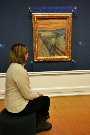 L'Urlo alla National Gallery