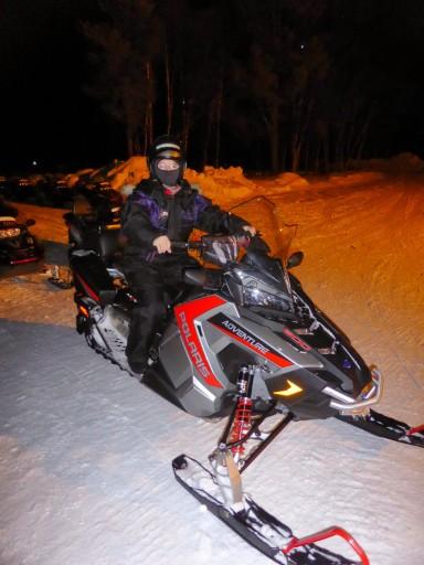motoslitta in Norvegia