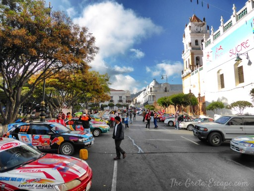 rally a Sucre