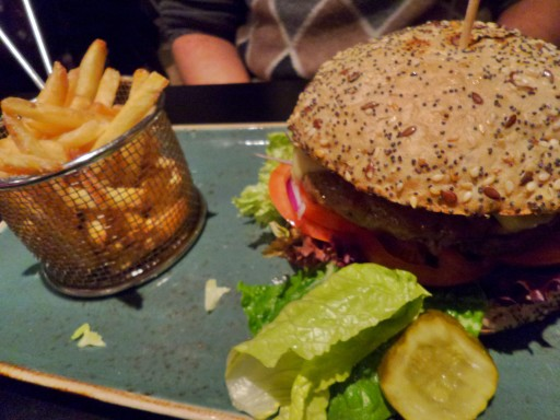 Hamburger a Svolvaer