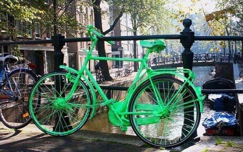 Amsterdam e le sue biciclette
