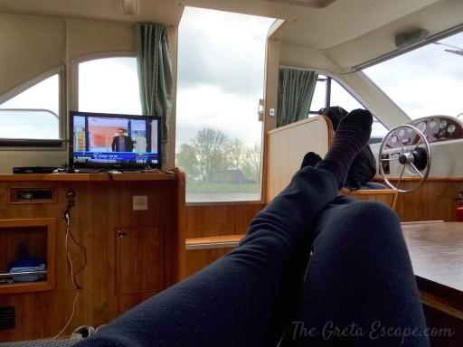 Relax davanti alla tv olandese...
