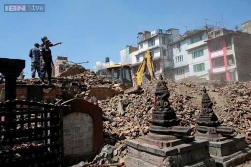 I templi distrutti di Kathmandu