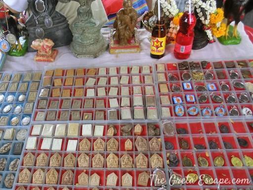 Mercato amuleti Bangkok