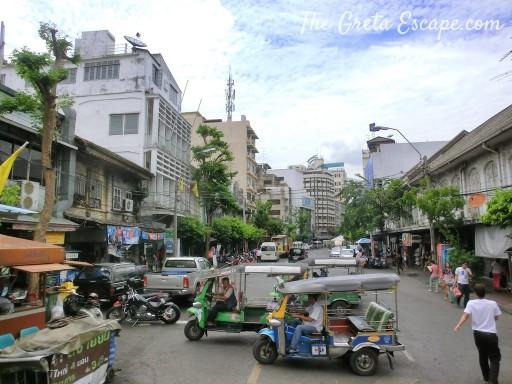 quartiere cinese Bangkok