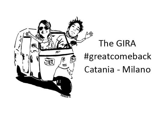 Catania – Milano: la traversata d'Italia alla guida di un'Ape