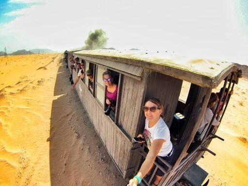 Treno storico nel Wadi Rum