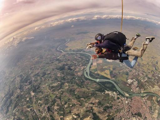 primo lancio paracadute