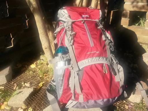 Lo zaino da trekking di 40 litri di Marsupio, che mi ha accompagnato lungo il cammino