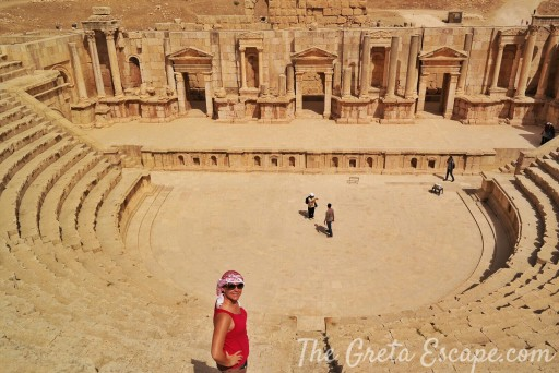anfiteatro di Jerash