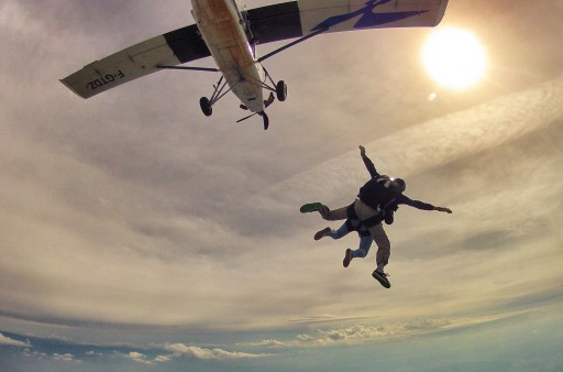 prima lancio paracadute