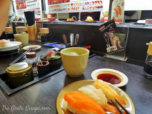 Kappa Sushi Kyoto