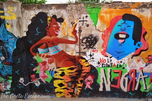 Murale a Cartagena