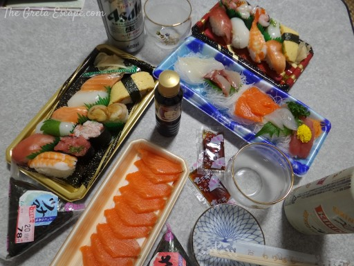 sushi supermarket