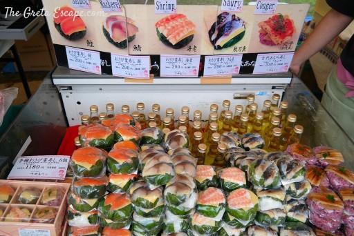 sushi bento