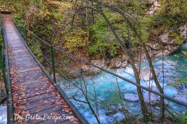 Trekking lungo l'Isonzo