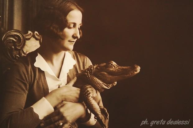 Kesja e il suo coccodrillo