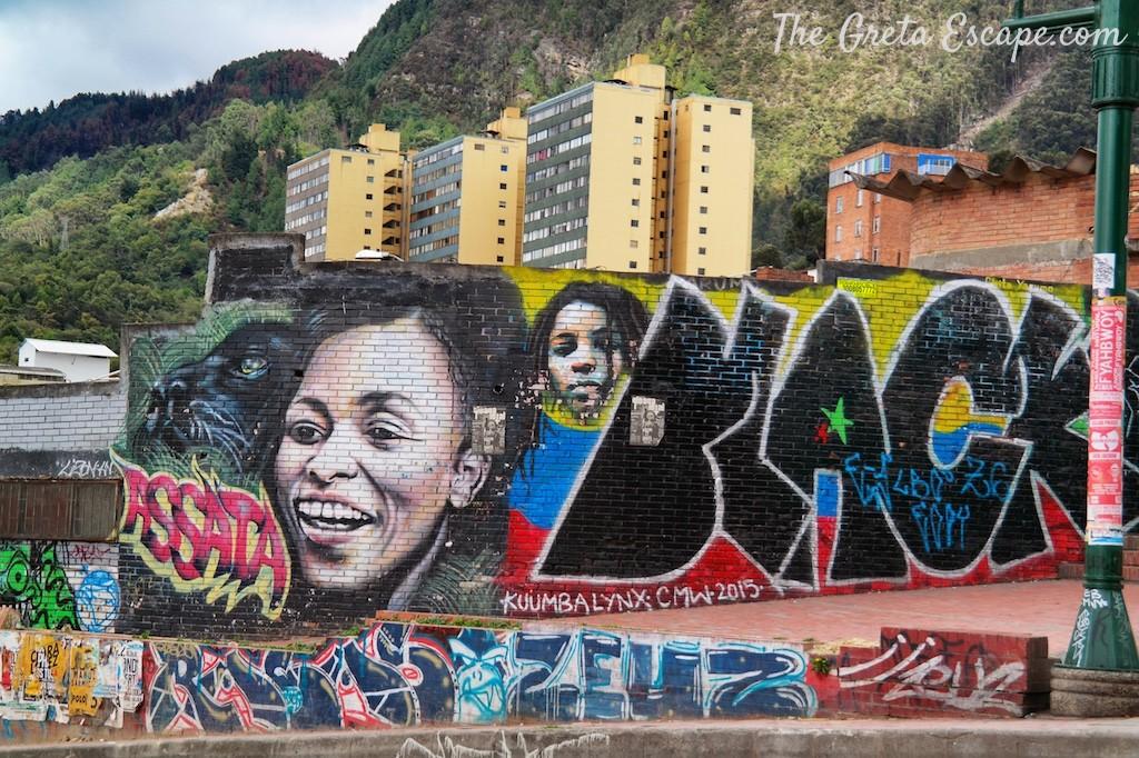 Bogotà murales