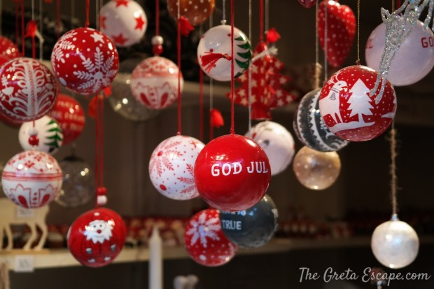 Palline di Natale svedesi