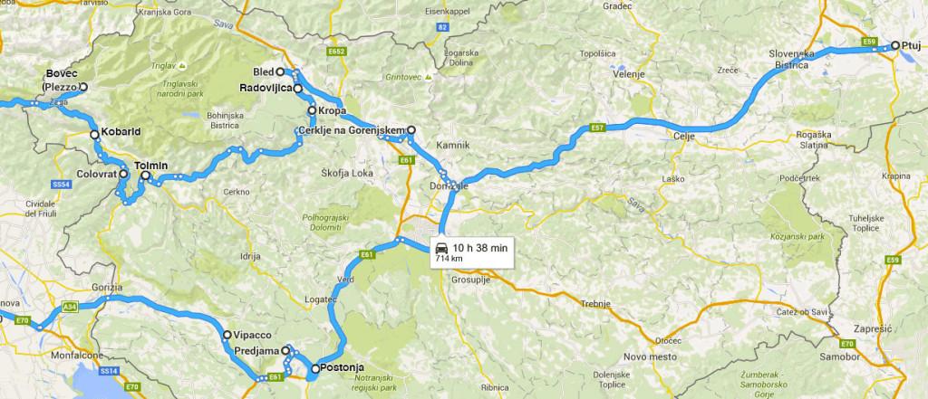 slovenia-itinerario