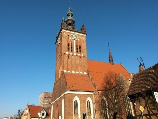 Tetti ed edifici di stampo nord europeo non mancano nella Città Vecchia di Danzica