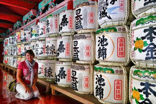 botti di sake