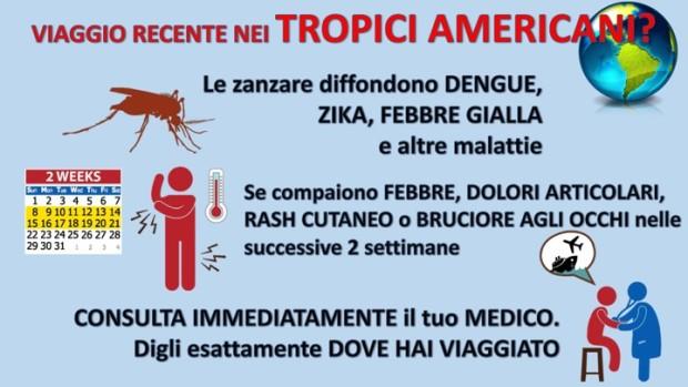 Zika informazioni per il medico