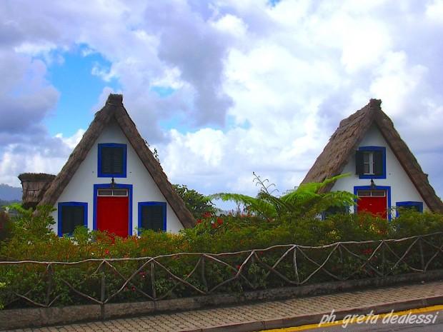 case tradizionali Madeira