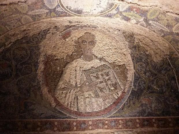 mosaici catacombe napoli