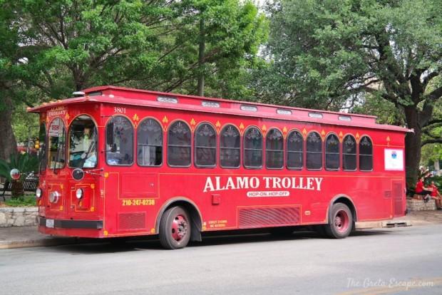 Alamo-trolley