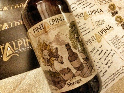 La birra responsabile Pintalpina viene prodotta grazie all'attività di ragazzi con disabilità