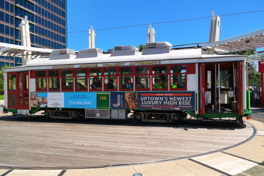 Trolley M Line Dallas