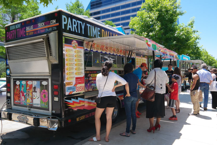 food truck di Dallas