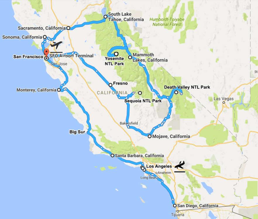 itinerario-california-20-giorni