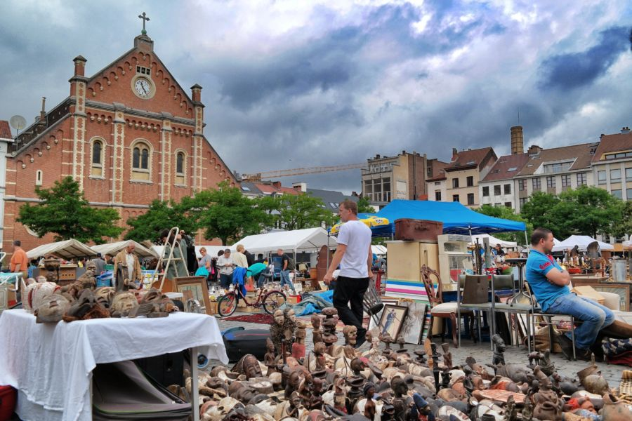 mercatino pulci a Bruxelles