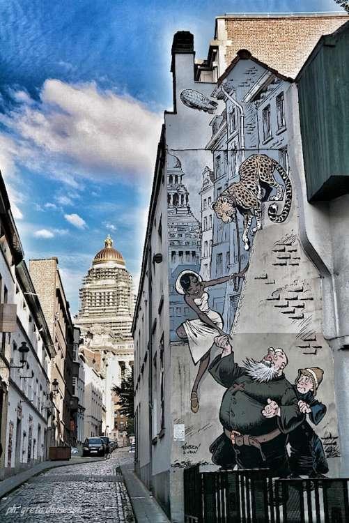 graffiti di Bruxelles