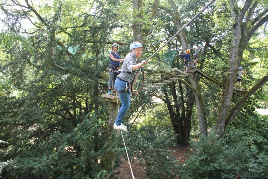 percorso sugli alberi