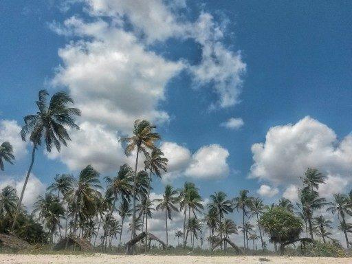 La lunga spiaggia di Pwani Beach sull'Oceano Indiano