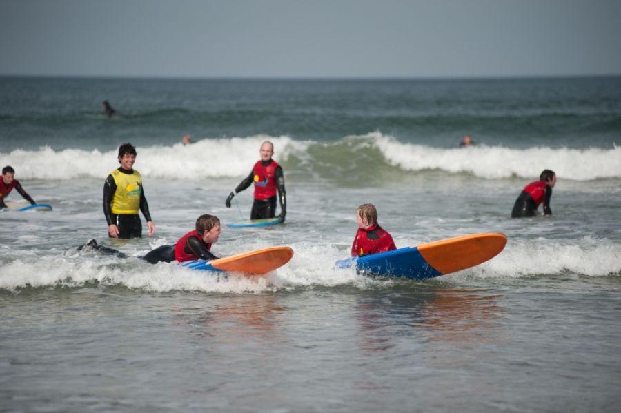 Lezione di Body Boarding (ph. by Alive Surf School)