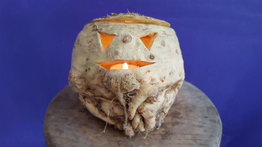 rapa di Halloween