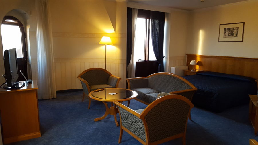 La suite ad angolo del Downtown Hotel