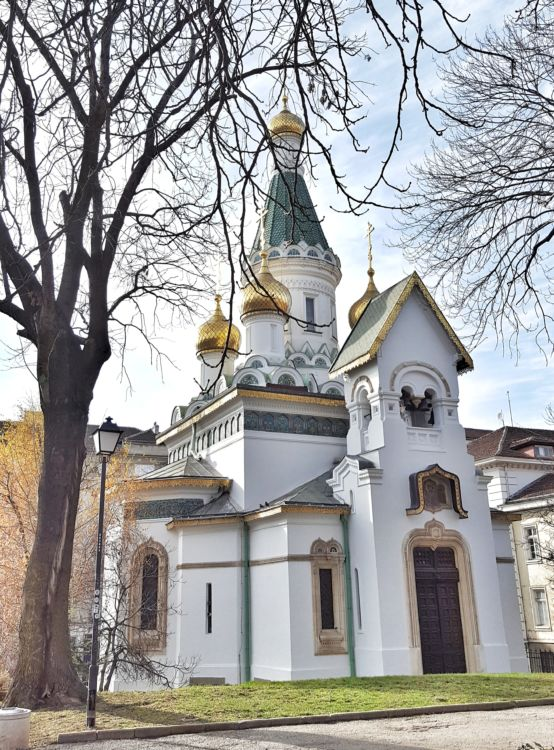 chiesa russa Sofia