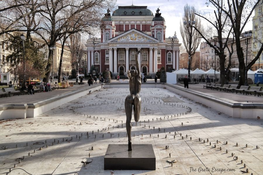 Teatro Nazionale a Sofia