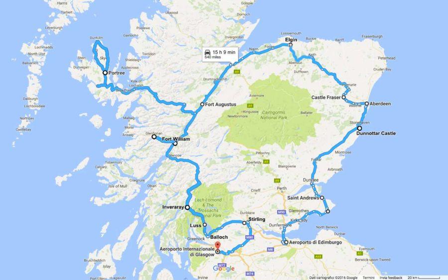 scozia-itinerario