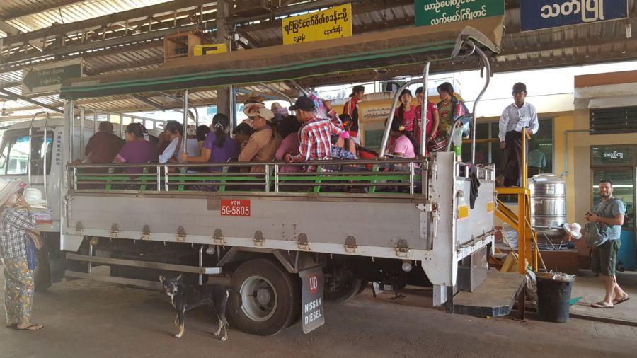truck Myanmar