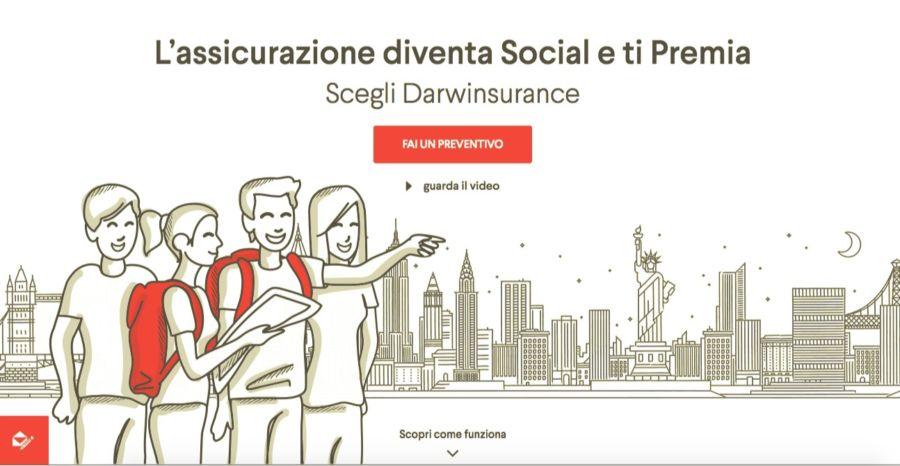 DarwinInsurance, l'assicurazione viaggio social che ti fa risparmiare