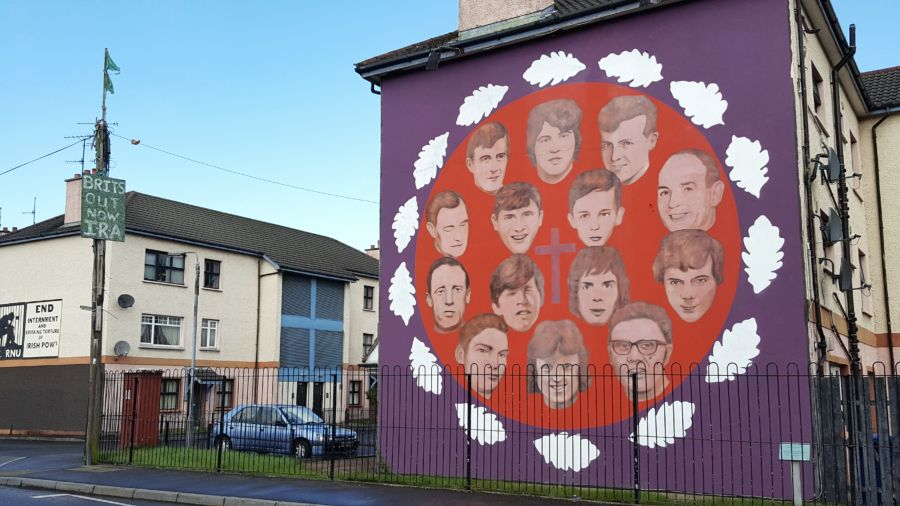 murales bloody sunday