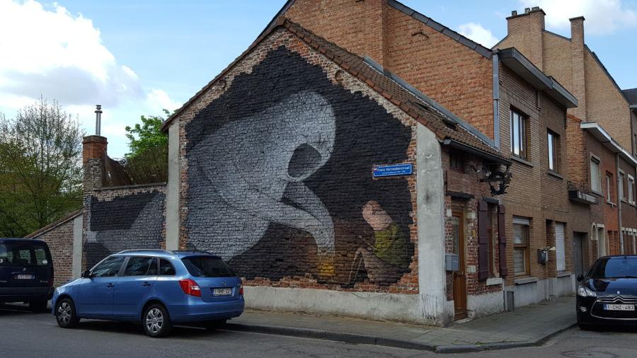 Murale di Bisser
